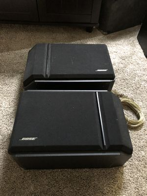 Excellent condition Bose home theater speaker pair for Sale in North Olmsted, OH