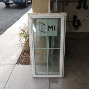 Vinyl Window 17 1/2 X 35 1/2 $25 for Sale in La Mesa, CA