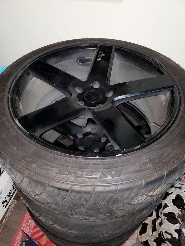 22 inches niche wheels