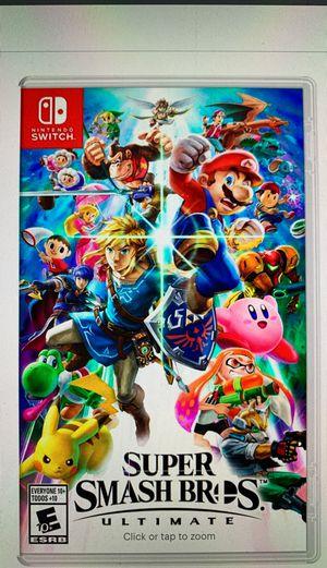 Nintendo Switch Super Smash Bros for Sale in San Francisco, CA