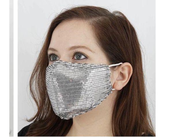 Sequin 2-layer Reusable Face Masks