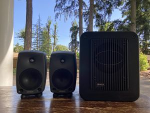 Genelec 8030a + 7050b pro audio reference monitors with sub for Sale in Portland, OR