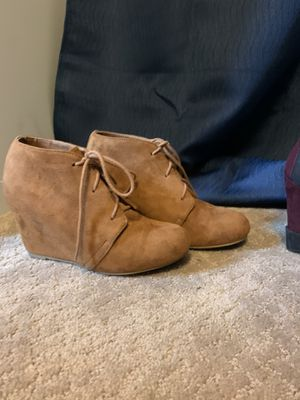 Like New Women's high heel Booties / knee high boots for Sale in Silver Spring, MD