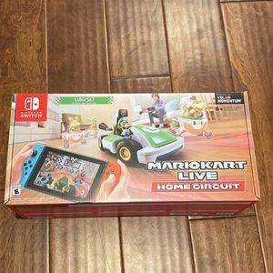 Nintendo Switch Mariokart Live Luigi Home Circuit for Sale in Irvine, CA