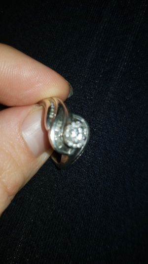 925 sterling silver diamond ring for Sale in Columbus, OH