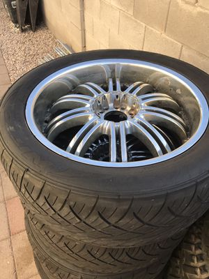 22 rims n tires for Sale in Las Vegas, NV