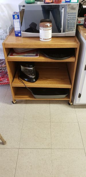 Microwave cart for Sale in Sanger, CA
