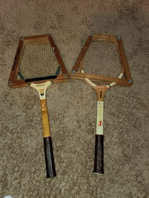 VINTAGE GARCIA CRAGIN PADDLE TENNIS WOOD RACQUET RACKET APTA APPROVED for Sale in Laurel, MD
