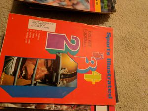 1968 sports illustrated college football for Sale in Corinth, ME