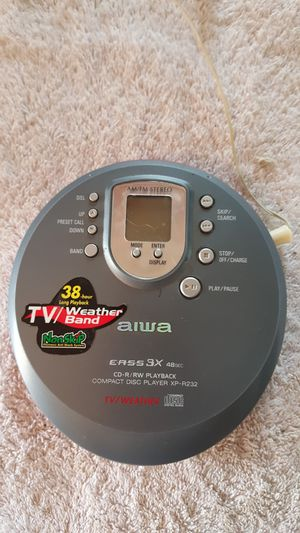 AIWA/CD PLAYER for Sale in Merrionette Park, IL