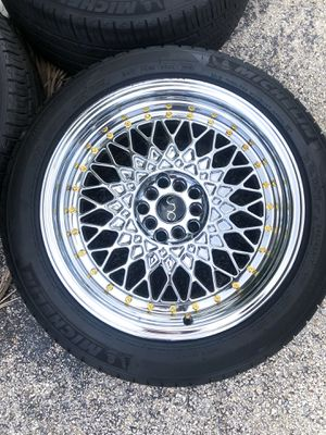 """Jnc Chrome rims🔥 17"""" (Just Rims no Tires) SERIOUS BUYERS ONLY DONT WASTE MY TIME for Sale in Seattle, WA"""
