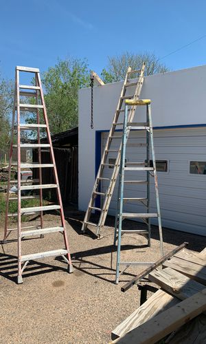 Ladders 75$ each or 130 for all 3 for Sale in Denver, CO