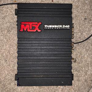 MTX 240 Car Amplifier for Sale in Redmond, WA