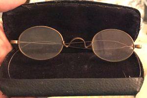 Antique wire rim wraparound granny glasses for Sale in Ponte Vedra Beach, FL