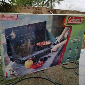 Coleman Perfect Flow Stove 2 burners for Sale in Phoenix, AZ