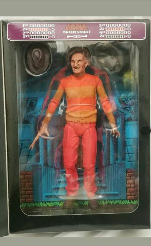 Exclusive Neca A Nightmare on Elm Street 8 Bit Freddy Krueger Collectible Action Figure Toy for Sale in Chicago, IL
