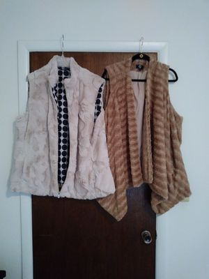 Women's faux fur vest XXXL for Sale in Detroit, MI