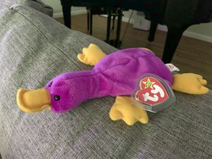 Patti the Platypus Very Rare Beanie Baby for Sale in South Kingstown, RI