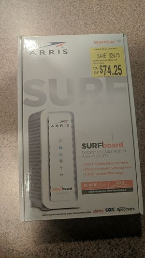 Modem and wifi router for Sale in Phoenix, AZ