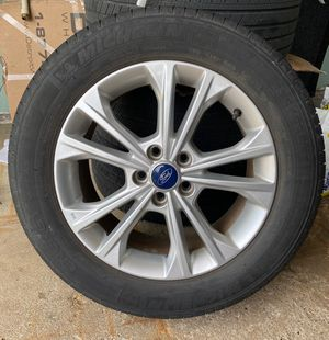 """Ford 17"""" Rims and Michelin Tires (Sensors included) for Sale in Coal Valley, IL"""