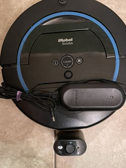 iRobot Scooba 450 - Black - Robotic Floor Cleaner. Condition is Used. for Sale in Chula Vista,  CA