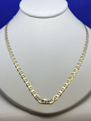 14kt Yellow Gold Mariner Link Chain for Sale in Hinsdale, IL