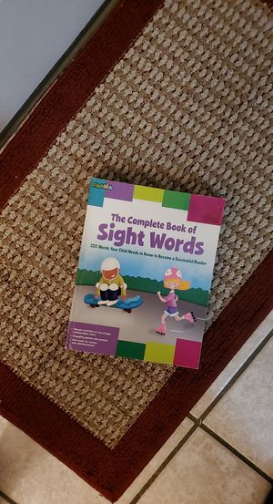 The Complete Book of Sight Words for Sale in Kennewick, WA
