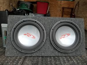 """Dual 12"""" Subwoofer Box - Two 12"""" Subwoofer Box for Sale in Phoenix, AZ"""