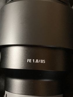 Sony 85mm F1.8 for Sale in Houston,  TX