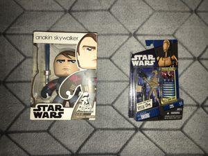 Star Wars Action Figure Anakin Skywalker & B1 Battle Droid for Sale in Fremont, CA