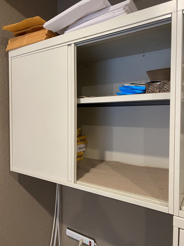 Commercial Grade Office Furniture- File Cabinet and Hanging Cabinets