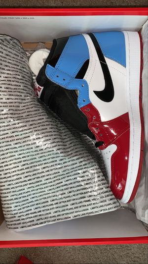Jordan 1 fearless UNC Chicago size men's 11 for Sale in North Wales, PA