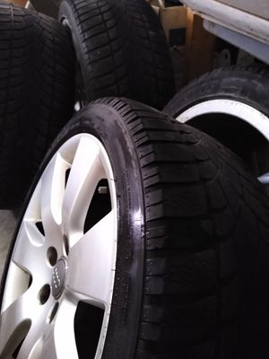 Set of 4 tires and rims for an Audi A6 for Sale in Bellevue, WI