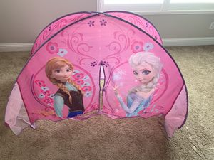 Playhut Frozen Bed Tent 29$ for Sale in Rancho Cucamonga, CA