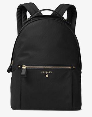 Michael Kors Black nylon large backpack for Sale in Plainfield, IL