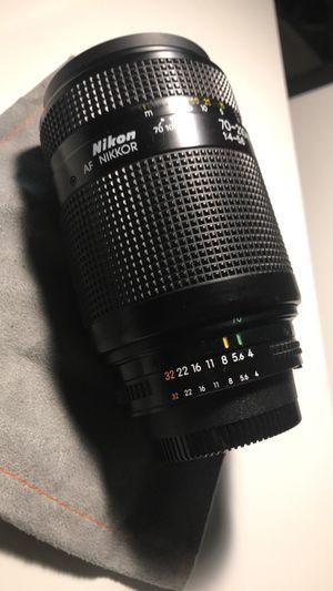 Nikon AF Nikkor 70-210mm lenses for Sale in Houston, TX
