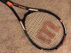 Orange/White/Black Wilson StopShock Tennis Racket 4 3/8 for Sale in Phoenix, AZ