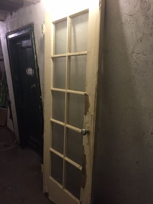 """One vintage French door 80.5"""" X 30.5"""" X 2"""" (east village, Manhattan) for Sale in New York, NY"""
