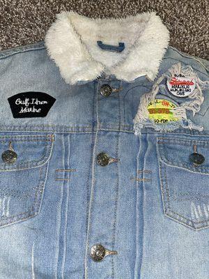 Men Jean Jacket Size Large for Sale in Washington, DC
