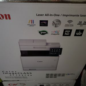Canon Color imageCLASS MF741CdwBN Multifunction Wireless Duplex Laser Printer Brand New And Factory sealed! for Sale in West Covina, CA