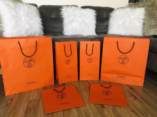 Hermès paper gift bags