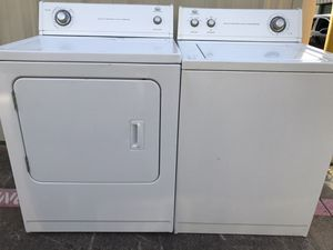 NICE ROPER TOP LOAD WASHER AND ELECTRIC DRYER SET for Sale in Everman, TX