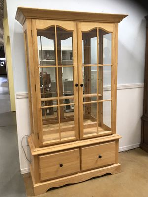Maple Hutch for Sale in Temecula, CA