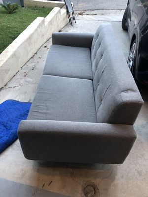 2 couches grey for Sale in Los Angeles, CA