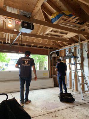 Garage Door and Garage Door Opener for Sale in Chicago, IL