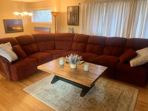 FREE 7 piece sectional with motorized recliners for Sale in West Linn, OR