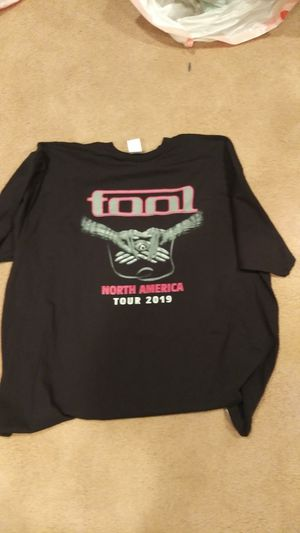TOOL Band Concert Tour Shirt 2XL Fear Inoculum 2019 for Sale in Los Angeles, CA