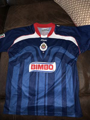 Chivas jersey in very good condition size is xl and signed by bofo Bautista for Sale in Perris, CA
