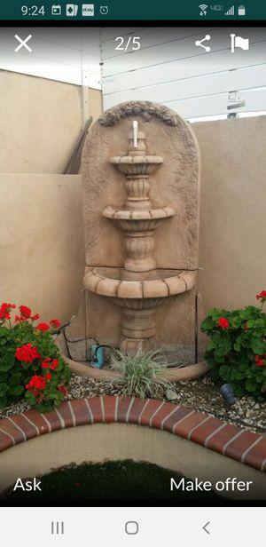 AL Garden 6' tall water fountain for Sale in Whittier, CA