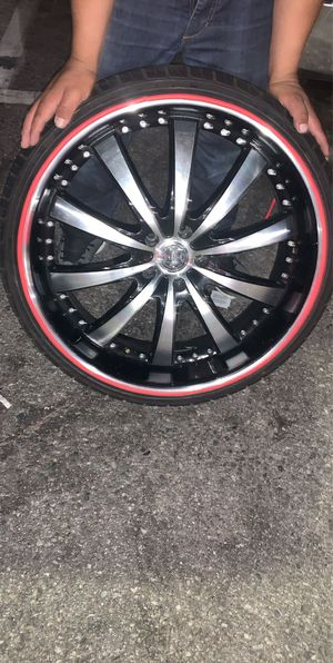 Rims 22 for Sale in Los Angeles, CA